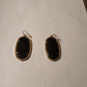 Kendra Scott large Elle drop earrings